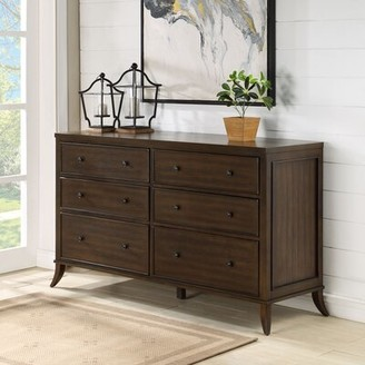 Safavieh Couture Remy 6 Drawer Double Dresser