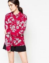 Minimum Thit Floral Printed Shirt