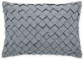 Vera Wang Vera WangTM Corrugated Texture Geometric Breakfast Throw Pillow in Shadow Blue