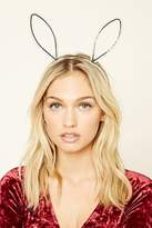 Forever 21 Faux Pearl Bunny Ear Headband