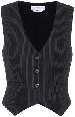 Gabriela Hearst Zelos stretch-wool vest