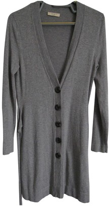 Oui Grey Viscose Knitwear