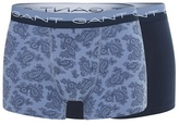 Gant Pack Of Two Blue Cotton Stretch Paisley Print Trunks