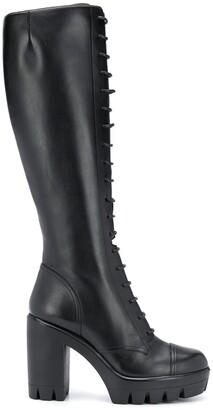 Giuseppe Zanotti Lace-Up High-Heel Boots