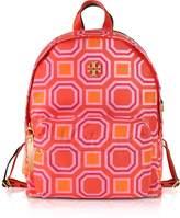 Tory Burch Octagon Square Print Nylon Backpack