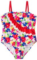 Hello Kitty Girls' Poppy Petal Ruffle One Piece (4yrs6X) - 8129636
