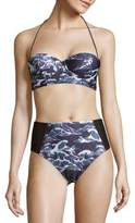 We Are Handsome Two-Piece Tropical Designed Bikini