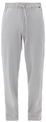 Hanro Night & Day Cotton-jersey Pyjama Trousers - Dark Grey