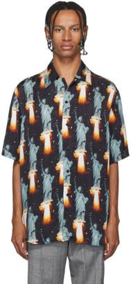 SSS World Corp Black Go Home Hawaiian Shirt