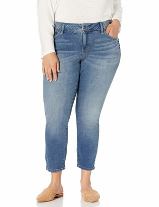 SLINK Jeans Women's Plus Size Naimah Ankle Skinny 24w