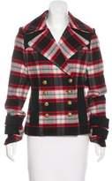 Smythe Wool Plaid Jacket