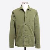 J.Crew Factory Cotton twill shirt-jacket