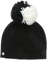 Spyder Women's Reversible Pom Hat with Snap Off Pom