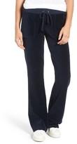 Juicy Couture Women's Del Rey Velour Track Pants