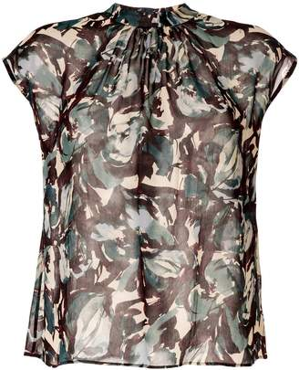 TOMORROWLAND all-over print blouse