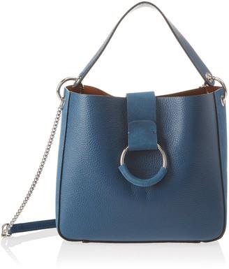 Chicca Borse Women's CBS178484-704 Shoulder Bag Grey Grey (grigio grigio)