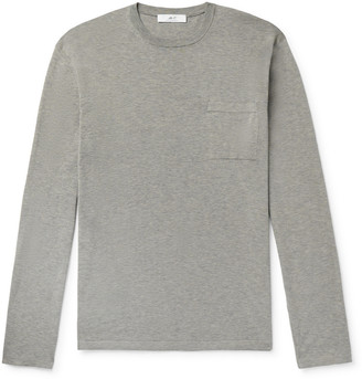 Knitted Cotton T-Shirt