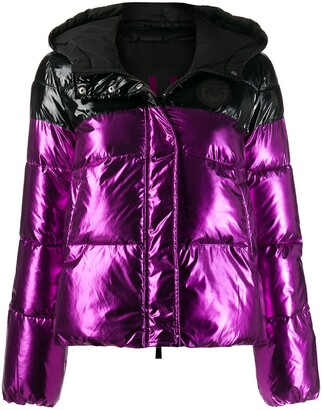 Pinko Two-Tone Puffer Jacker