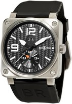 Bell & Ross Men's BR-03-51-GMT TITANIUM Aviation GMT Dial Watch Watch