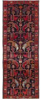 Ecarpetgallery Nahavand Hand-Knotted Red Area Rug