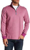 Robert Graham Abdul Partial Zip Sweatshirt