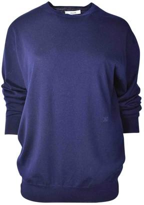 Celine Blue Wool Knitwear
