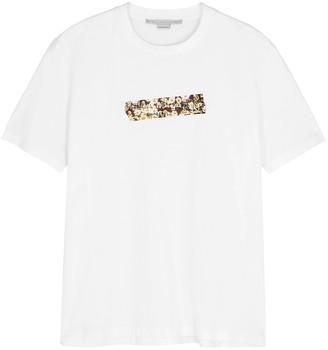 Stella McCartney White Logo Cotton T-shirt
