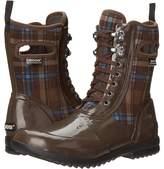 Bogs Sidney Lace Plaid Women's Rain Boots