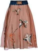 Stella Jean Silk Organza Skirt