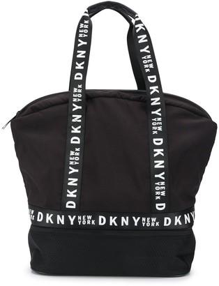 DKNY Logo Band Shoulder Bag
