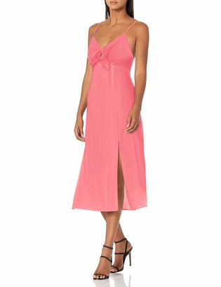 Finders Keepers findersKEEPERS Women's Sleeveless V-Neck Sally Cut-Out Midi Dress