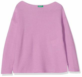 Benetton Girl's Basic G4 Long Sleeve Top