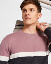 Ted Baker Colorblock cotton sweater
