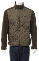 Barbour Quilted Panel Fleece Jacket