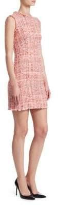 Alexander McQueen Ribbon Tweed Dress