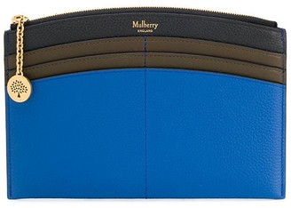 Mulberry curved Traveller wallet