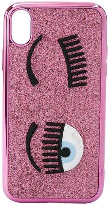 Chiara Ferragni Flirting embroidered iPhone XR case