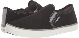 Geox Kids Kilwi 45 (Big Kid) (Black/Grey) Boy's Shoes