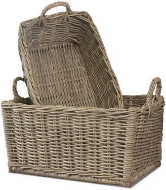 Napa Home And Garden Set Of 2 Normandy Laundry Baskets