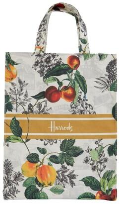 Harrods Medium Winter Fruit Shopper Bag