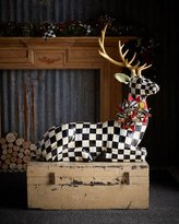 Mackenzie Childs MacKenzie-Childs Courtly Check Resting Deer