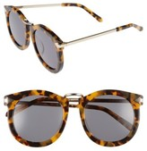 Karen Walker Women's Alternative Fit Super Lunar - Arrowed By Karen 50Mm Sunglasses - Crazy Tortoise/ Gold