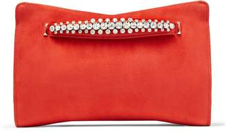 Jimmy Choo Suede Venus Clutch Bag