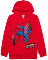 Spiderman Graphic-Print Hoodie, Little Boys (4-7)