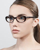 Tom Ford Soft Rounded Fashion Glasses, Havana