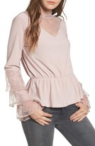 Leith Women's Spiral Lace Top