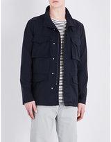 Closed Drawstring-waist Wool-blend Jacket