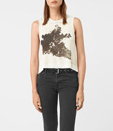AllSaints Tulipa Cropped Tee