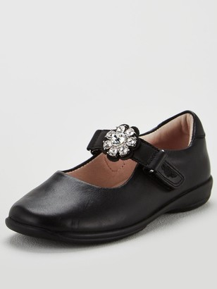 Lelli Kelly Kids Girls Buttercup Dolly School Shoes - Black Leather