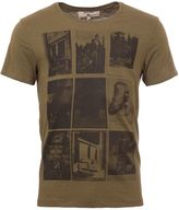 Garcia Printed Cotton T-shirt